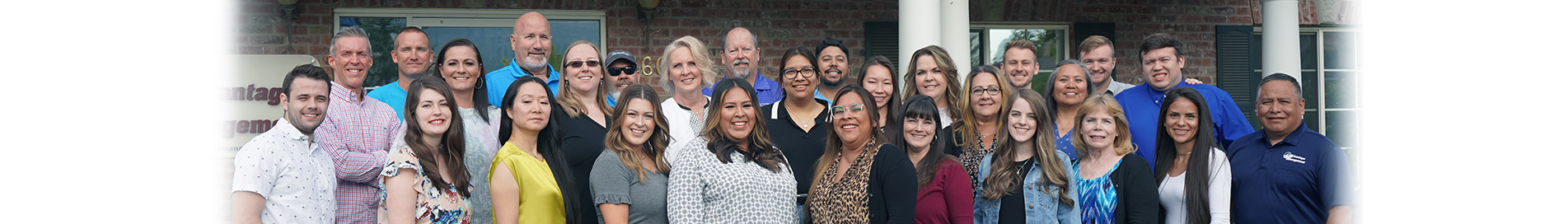 Advantage Management Staff Group Photo